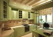 Мебель для кухни из крашеного МДФ