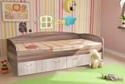 Кровать Бриз Ясень