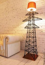 Светильник ручная работа 2000х400х400